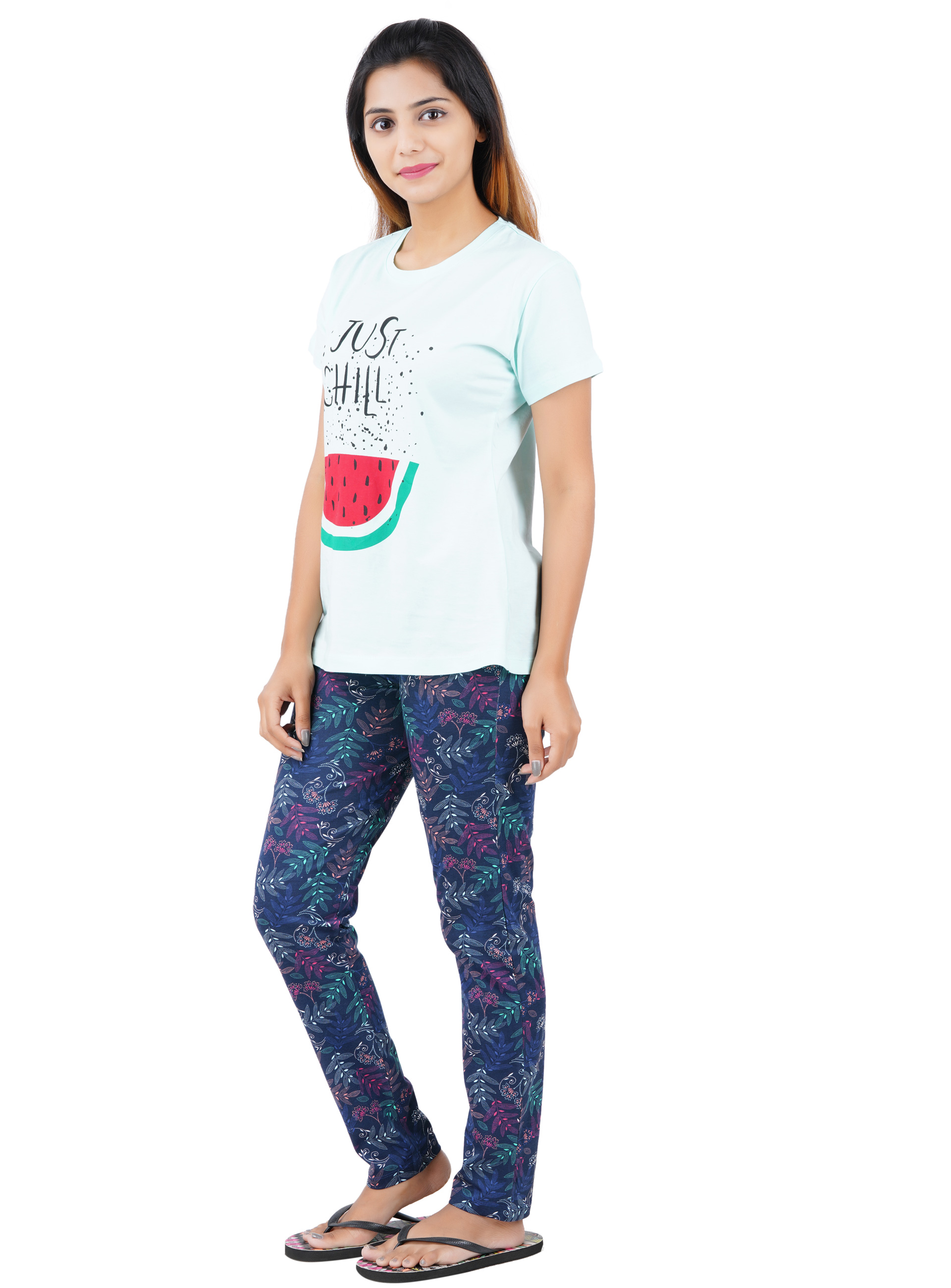 Aswati Watermelon Full Set Pyjama - Just Chill