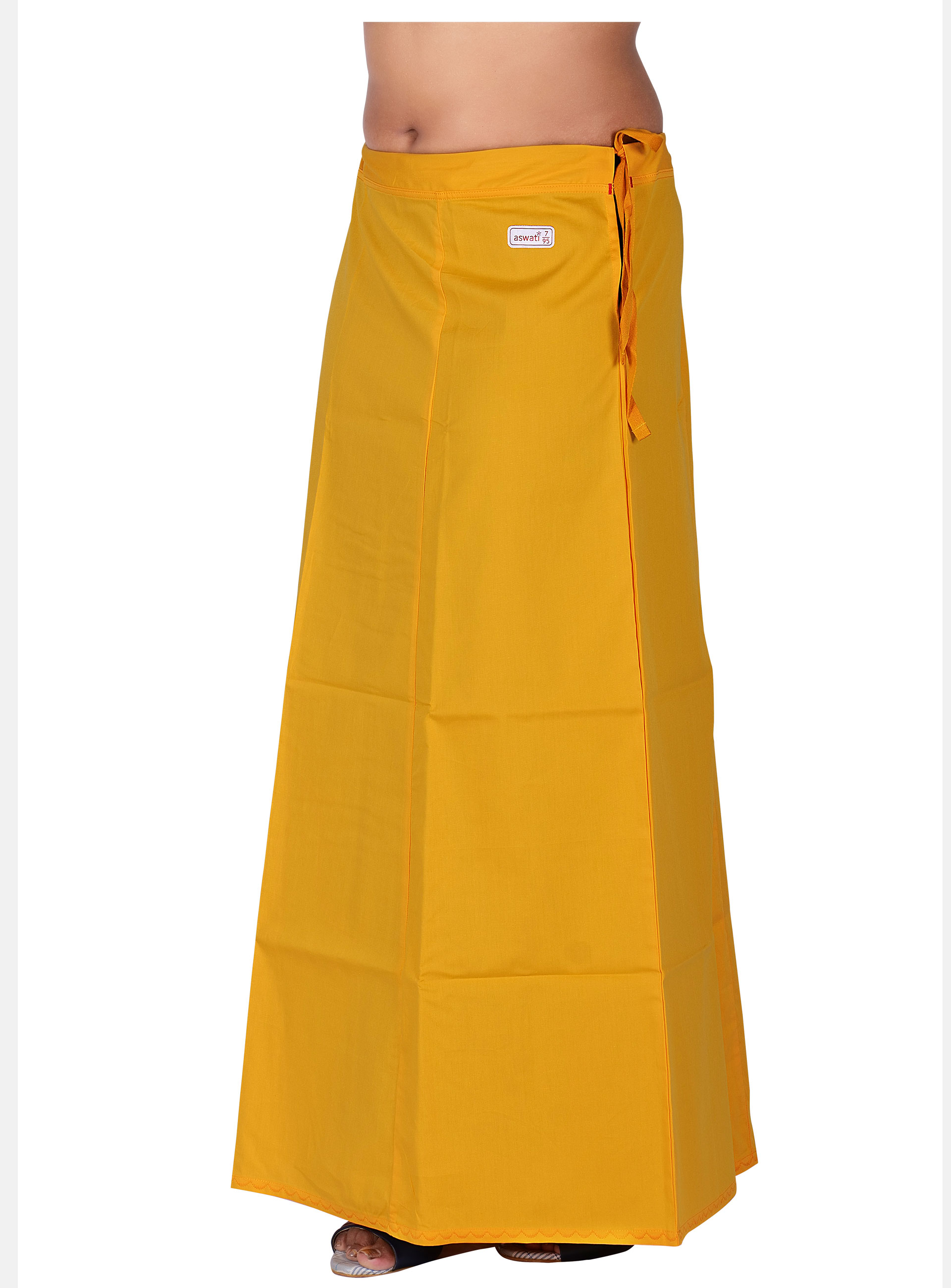 Yellow Color Aswati Premium Inskirts (6 PART)