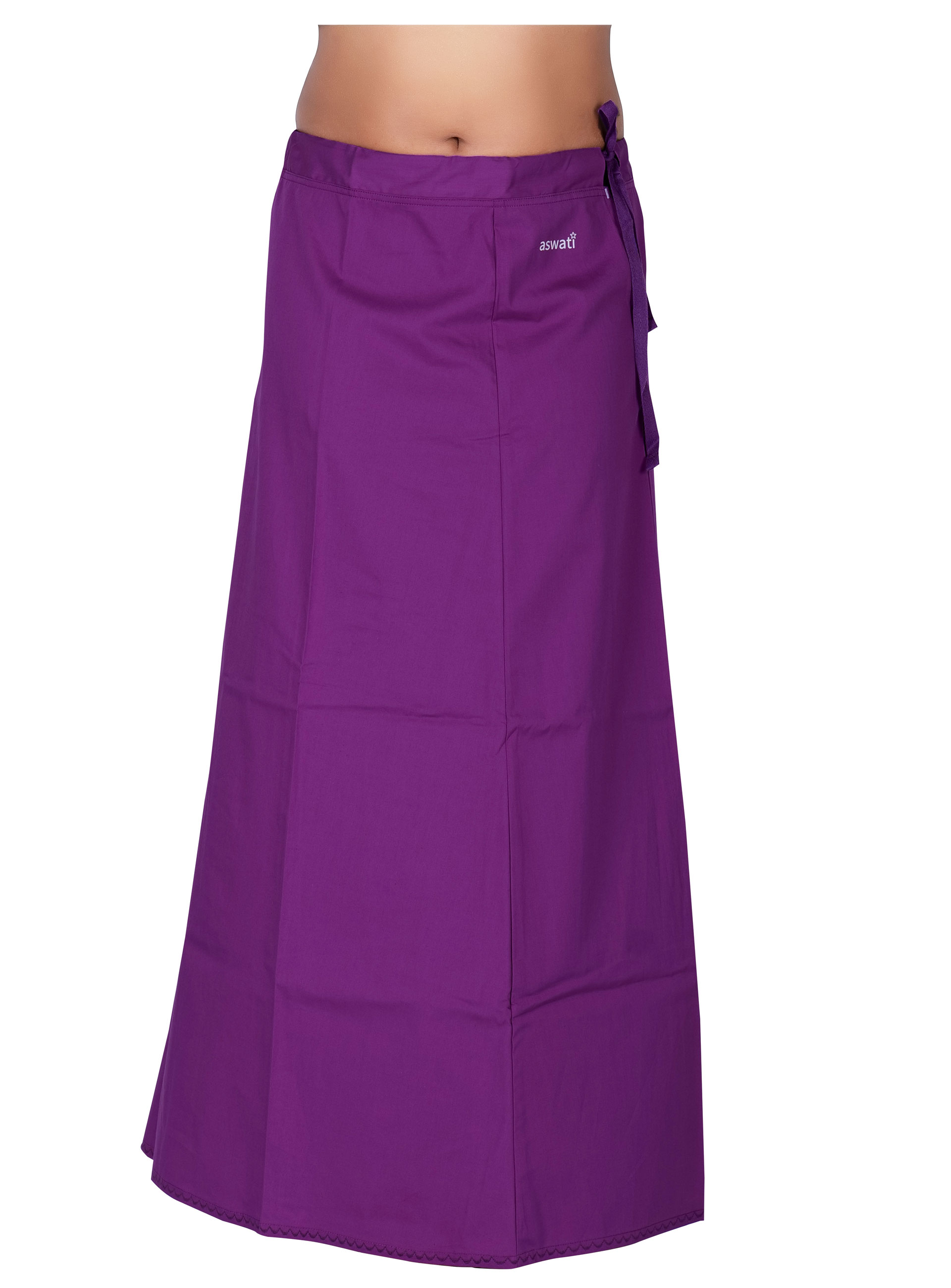 Purple Color Aswati Premium Inskirts (8 PART)
