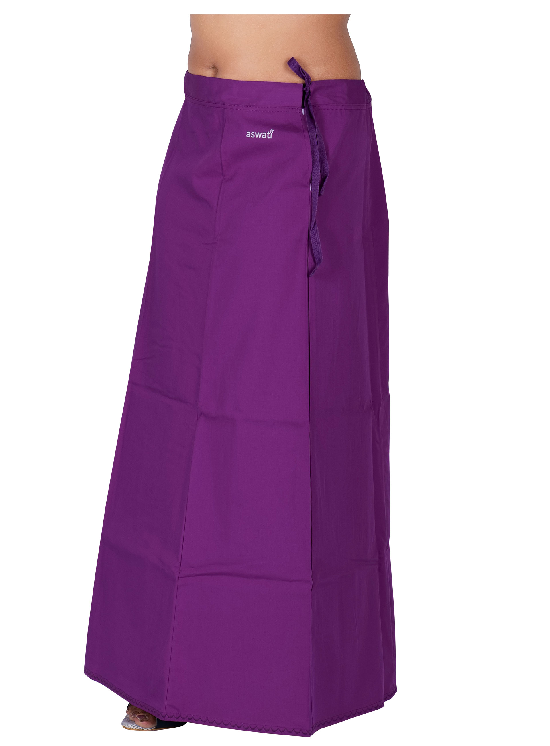 Purple Color Aswati Premium Inskirts (6 PART)