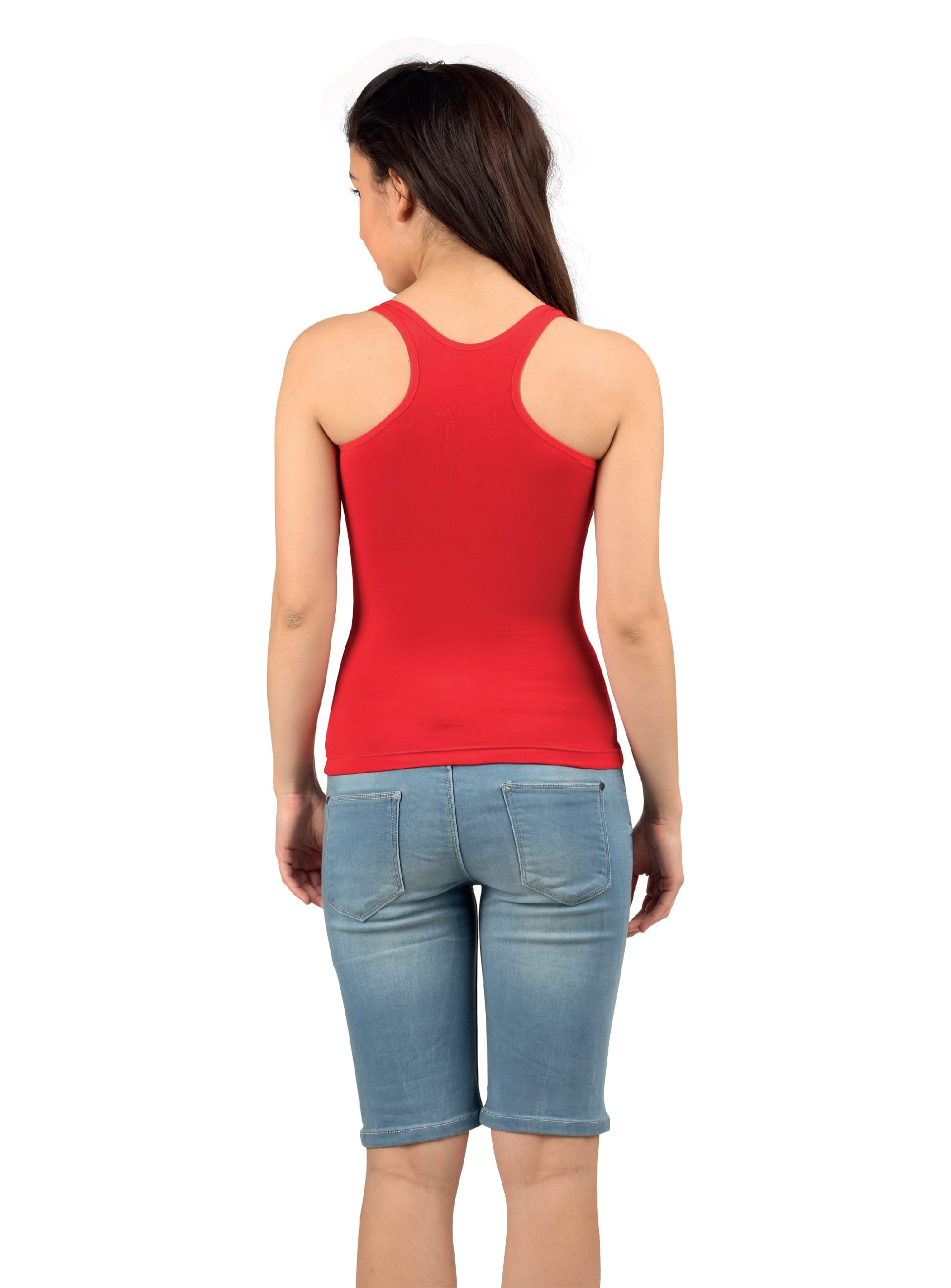 Aswati Racerback Full Slips Red Color