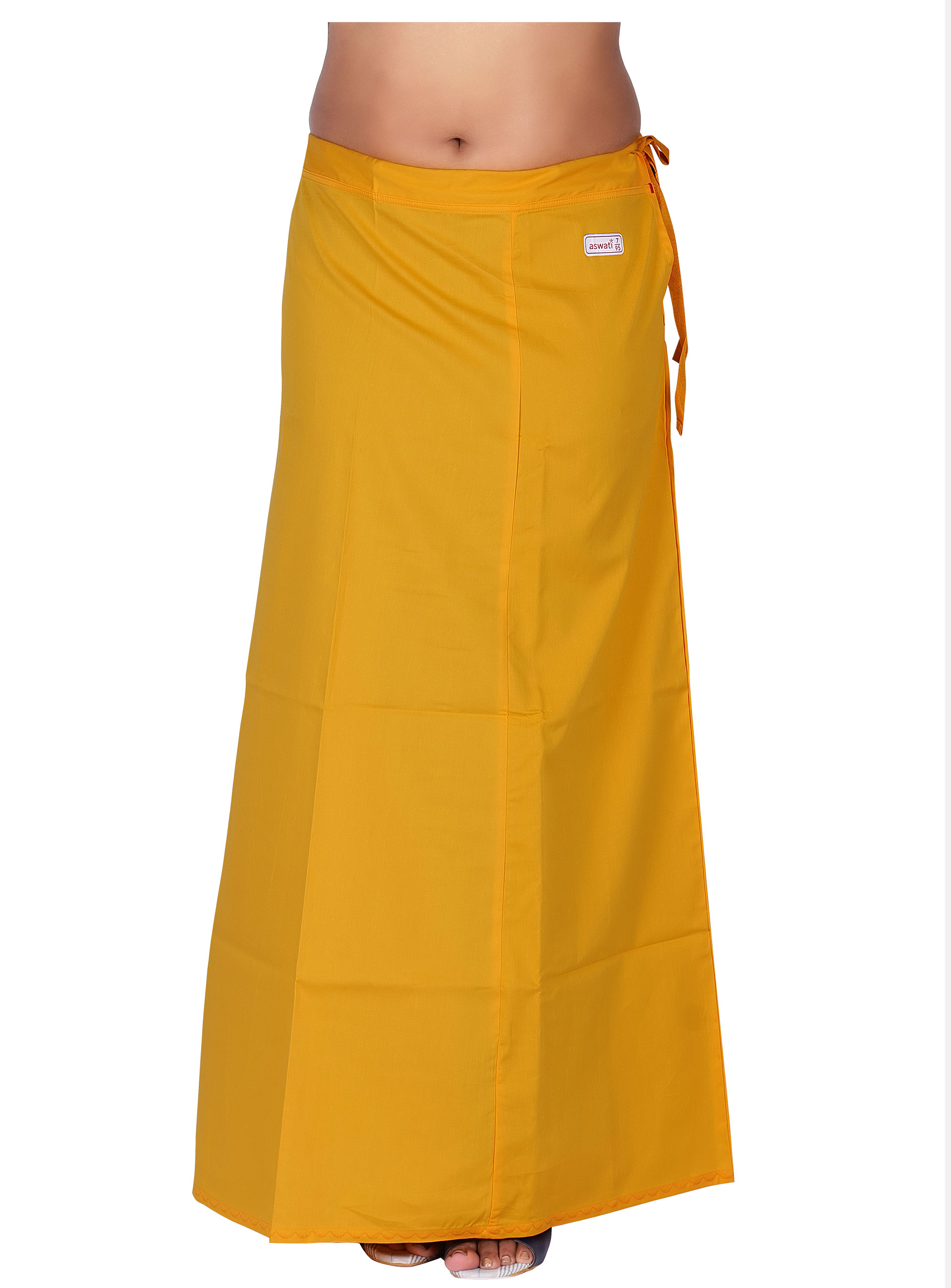 Yellow Color Aswati Premium Inskirts (7 PART)