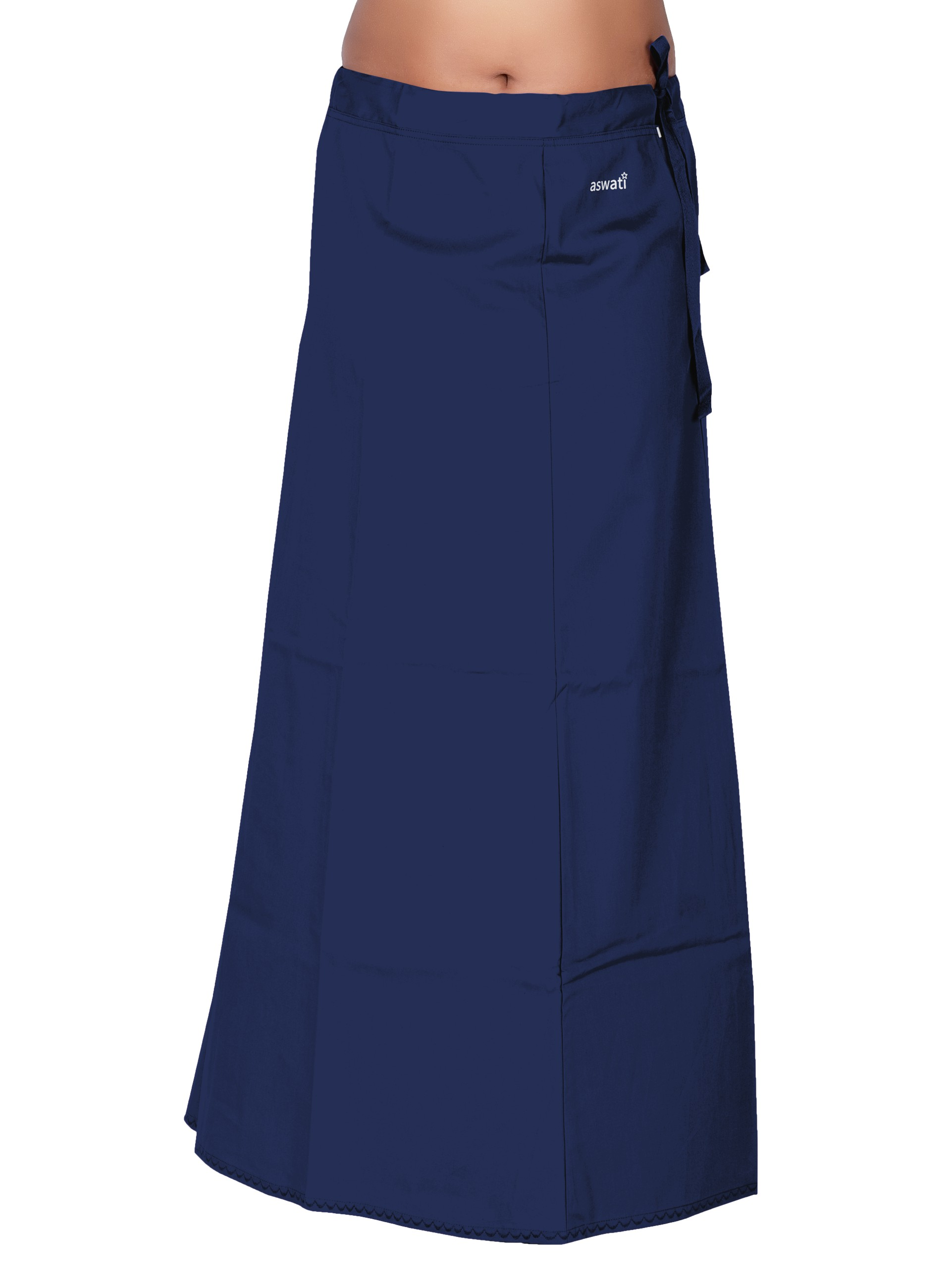 Navy Blue - Aswati Premium Inskirt (7 PART)